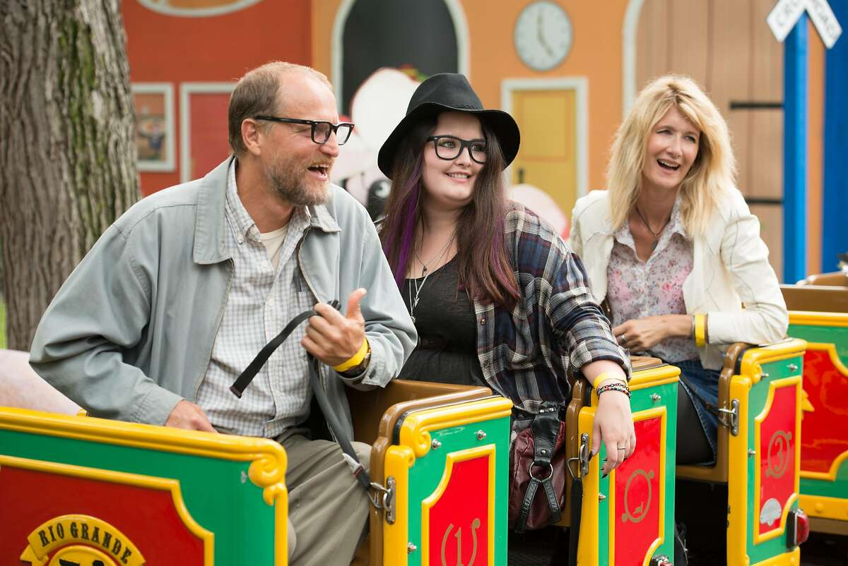 """Woody Harrelson (left), Isabella Amara (middle) and Laura Dern (right) star in the film adaptation of cartoonist and screenwriter Daniel Clowes's graphic novel, """"Wilson."""" Credit: Twentieth Century Fox Film Corporation All Rights Reserved"""