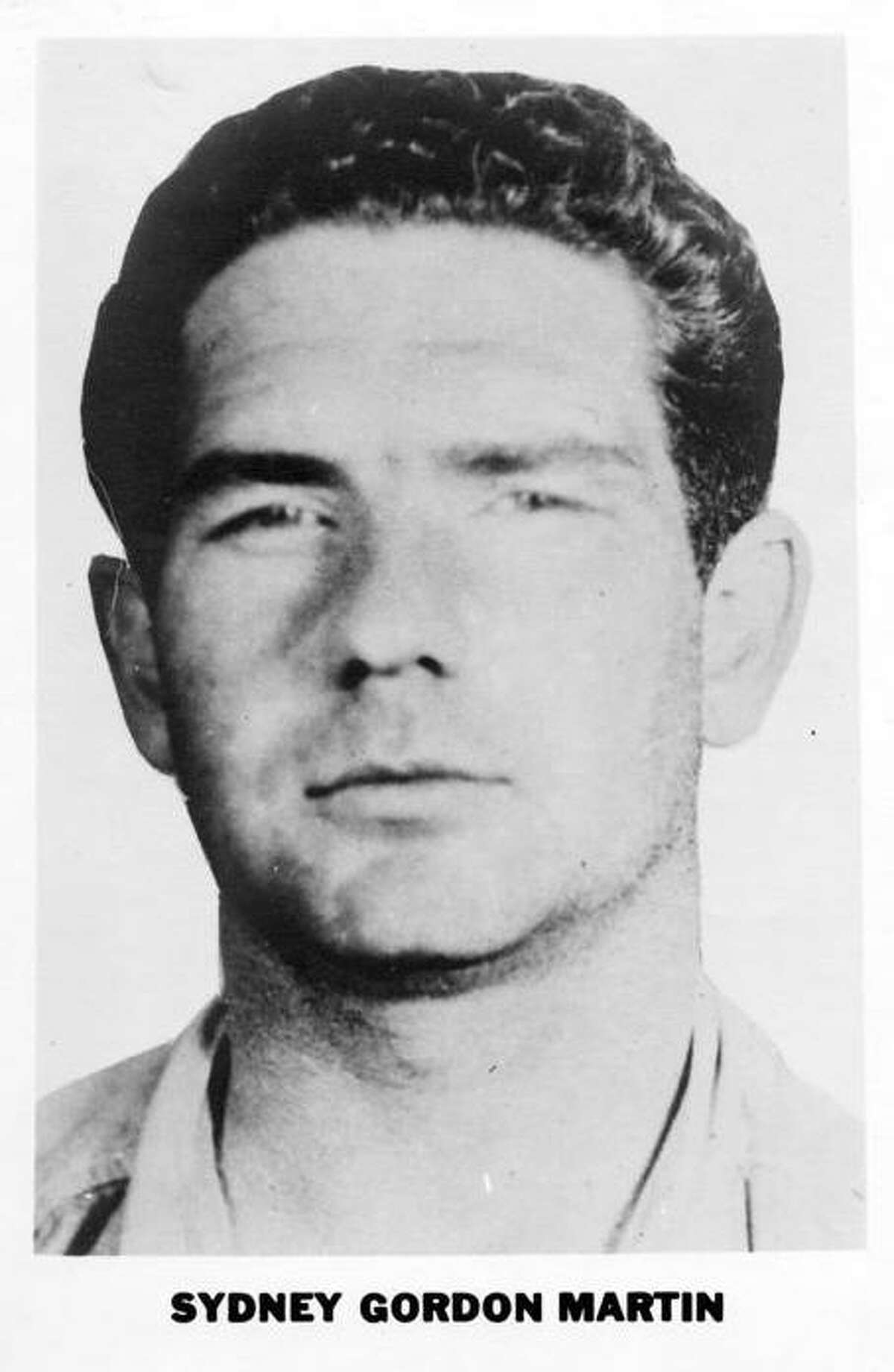 Name:Sydney Gordon Martin Wanted for:Murder and robbery in Massachusetts, he also escaped from jail. The FBI arrested him in Corpus Christi, Texas, after his case was publicized in the Saturday Evening Post. Added to 10 Most Wanted List:Jan. 7, 1952 Status:Captured Nov. 27, 1953