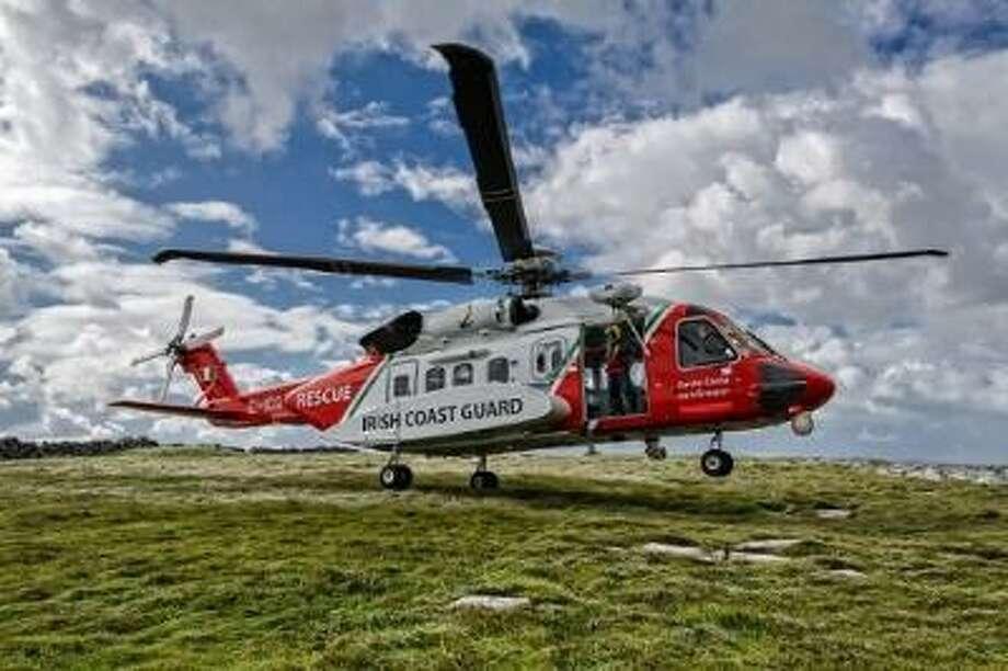 A Sikorsky S-92 helicopter Photo: (Photo Via PRNewswire)