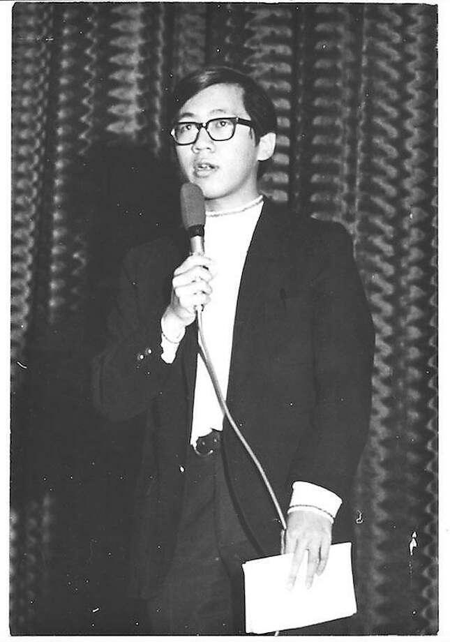 Rock journalist and broadcaster Ben Fong-Torres in 1967. Photo: Courtesy Ben Fong-Torres