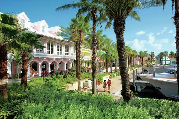 Marina Village at Atlantis, Paradise Island.