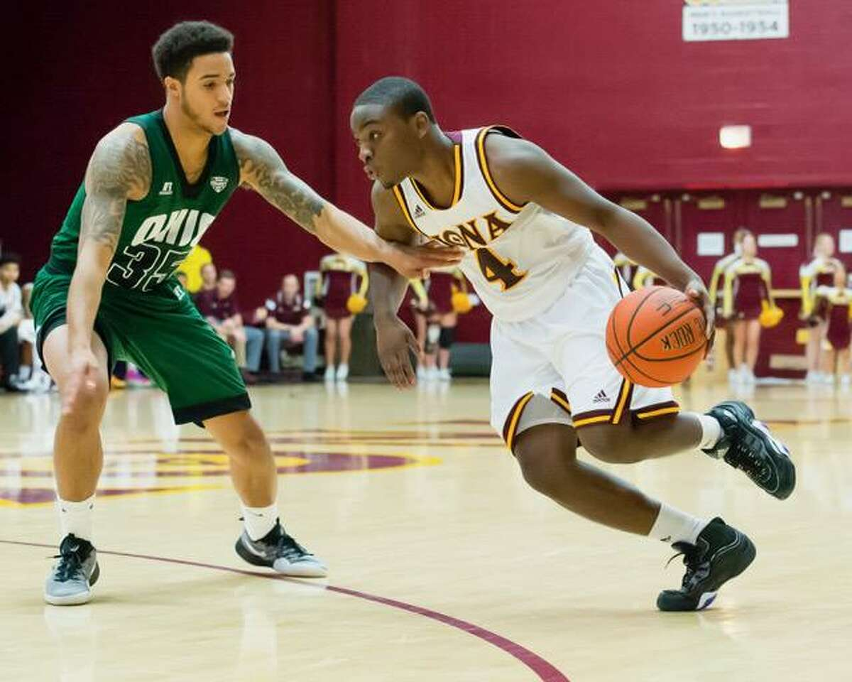 Schadrac Casimir and his 14th-seeded Iona teammates will play No. 3 Oregon on Friday.