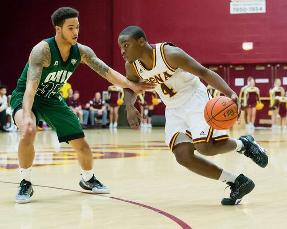 Schadrac Casimir and his 14th-seeded Iona teammates will play No. 3 Oregon on Friday. Photo: Courtesy /Iona College