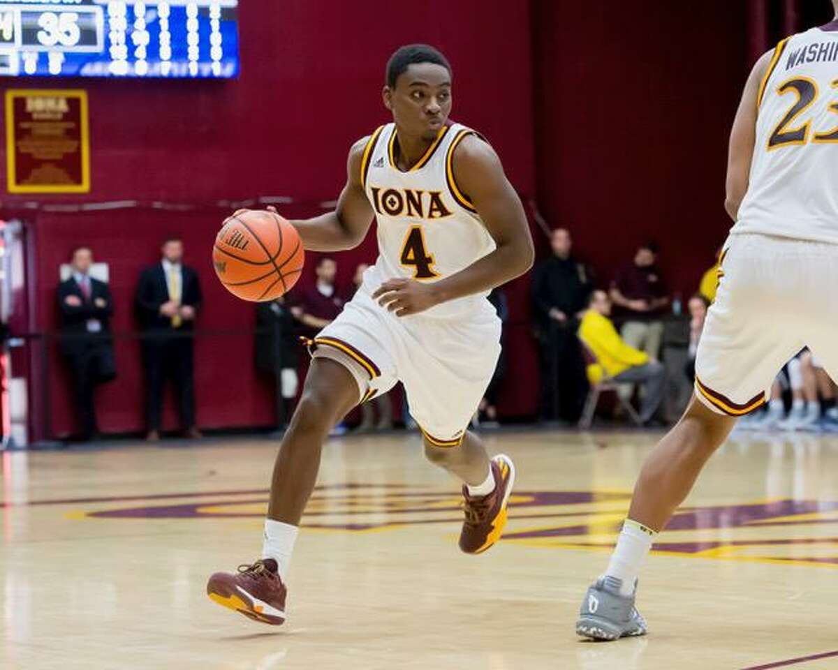 Iona guard Schadrac Casimir, a Trinity Catholic graduate, is back in action after undergoing three surgeries in five months last year.
