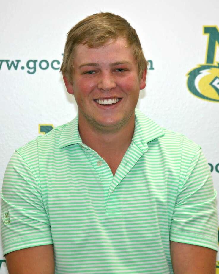 Midland College golfer Stefan Cronje Photo: Forrest Allen