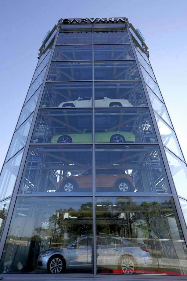 8 Story Car Vending Machine Opens In San Antonio San Antonio