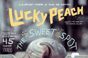 A cover of Lucky Peach