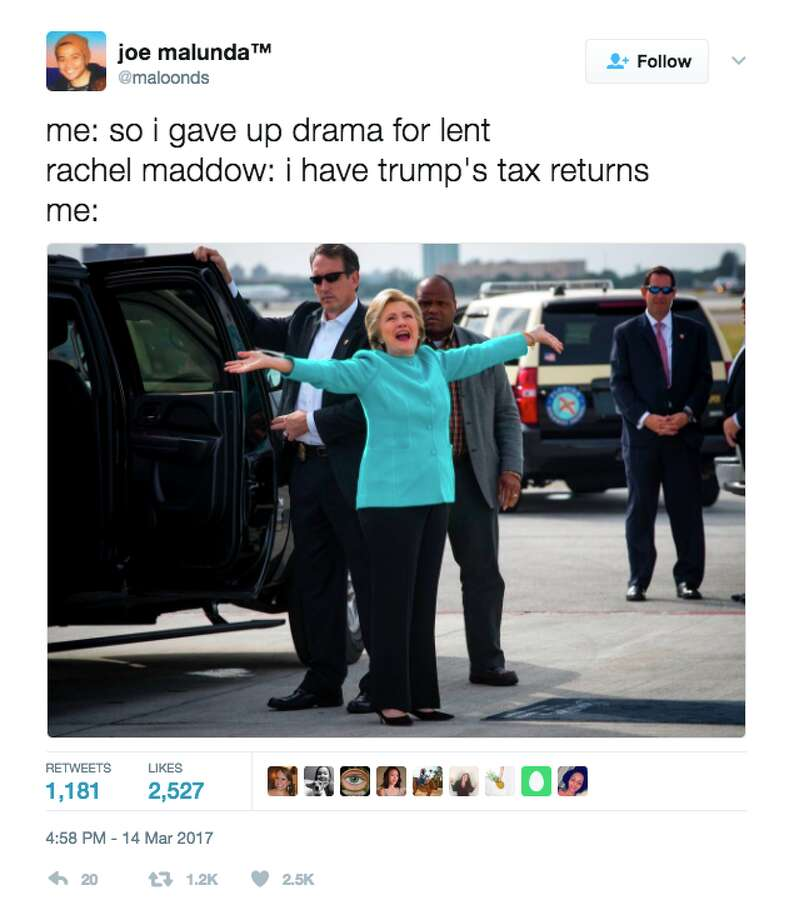 Twitter Memes React To Donald Trump's Tax Return Release
