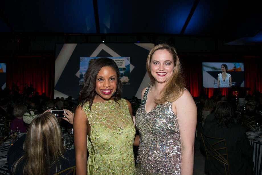 Amber Elliott and Amy Armstrong at the 2017 Texas Film Awards Photo: Lauren Gerson