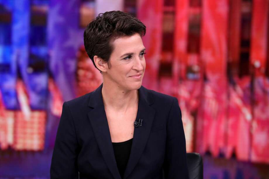 Rachel Maddow on election night. Photo: MSNBC/NBCU Photo Bank Via Getty Images