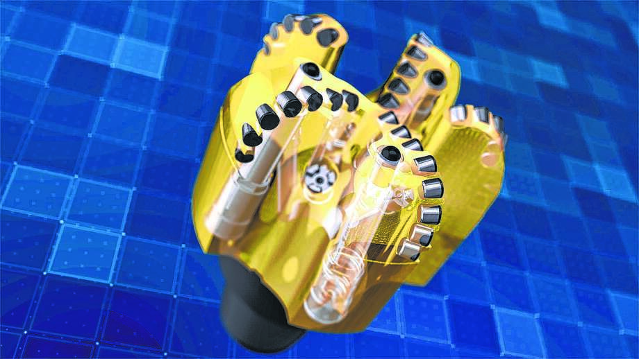 The TerrAdapt drill bit is designed to work on land. Most previous bits were adapted from deep-water devices.