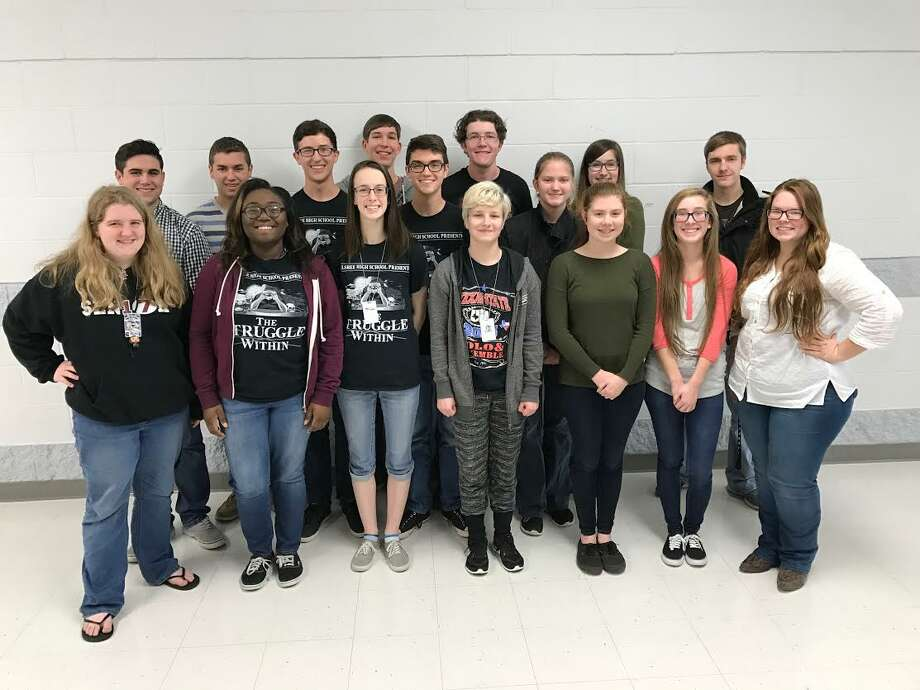 Silsbee High School band members that qualified for state solo and ensembles are, front, from left: Talesha Tate; Jametrice Whitmore; Kayla Coffey; Sable Prater; Katie Camden; Alexia Read; and Megan Taylor. Back, from left: Braydon Kiser; Cameron Barnes; Dalton Avery; Jacob Fisher; Nicholas Allen; Matthew Davis; Brianna Collins; Gracey Prater; and Austin Taylor. Not pictured are Paula Boothman and John Watters.