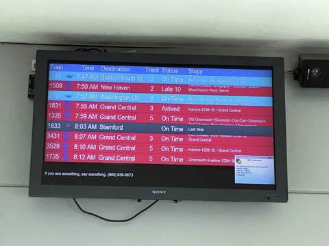 Metro-North trains running with 'weather delays' - StamfordAdvocate