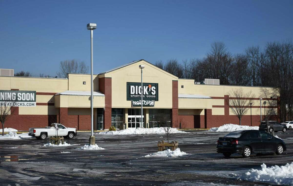 The new Dick's Sporting Goods store at 444 Connecticut Ave. after its 9:00 a.m. opening on Wednesday, March 15, 2017. Dick's took over the former Sports Authority lease at the site.