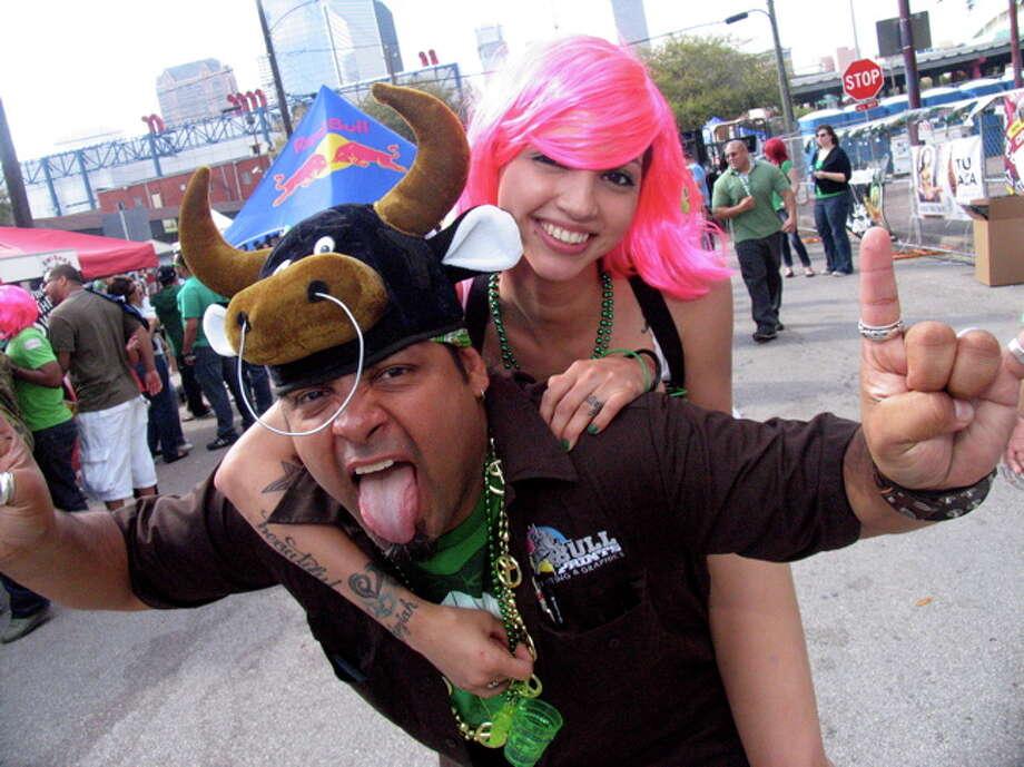 Cheeto Musquiz and Madison Alvarez. Photo by Jordan Graber. Photo: Jordan Graber, Freelance / Freelance
