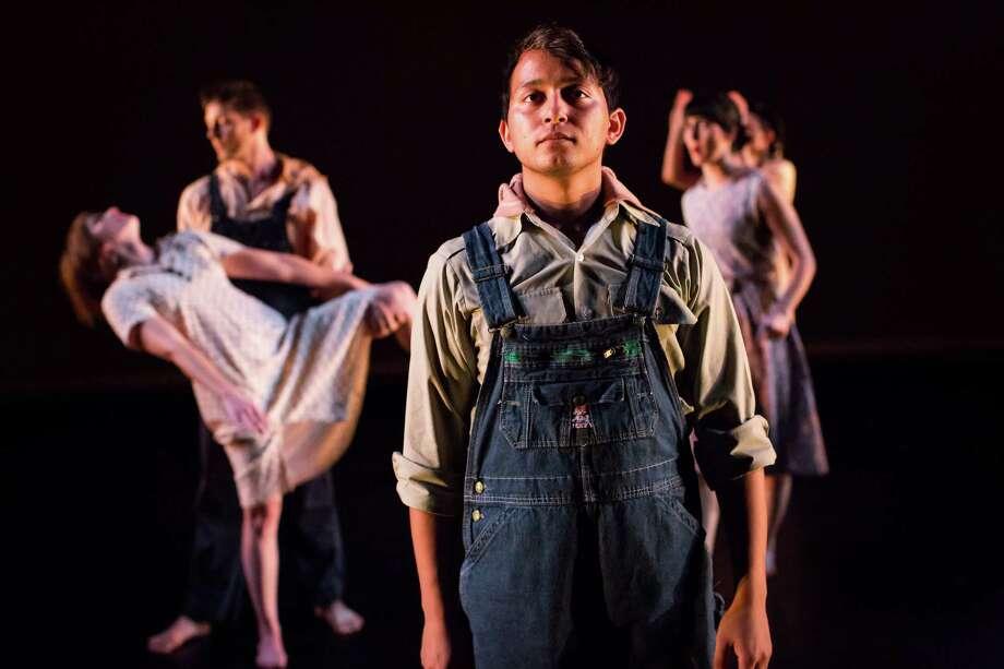 "Houston Ballet performs Hans van Manen's ""Grosse Fuge."" Photo: Lynn Lane / Lynn Lane"