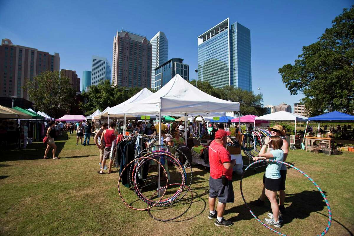 Discovery Green Flea features vintage, recycled and repurposed items.
