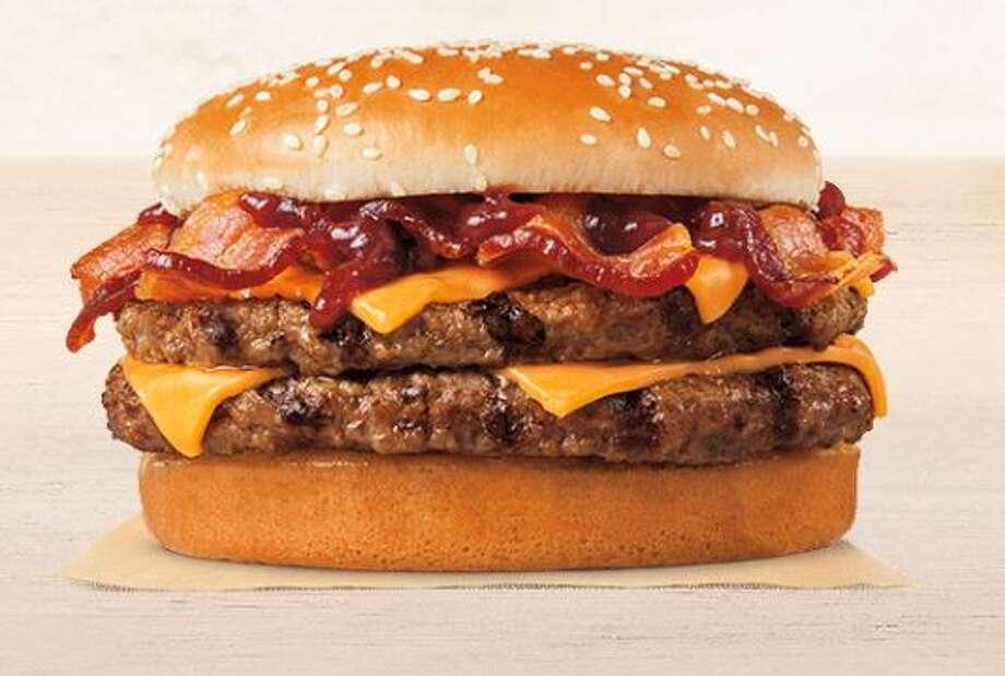 Burger Kings BBQ Bacon King Sandwich Photo