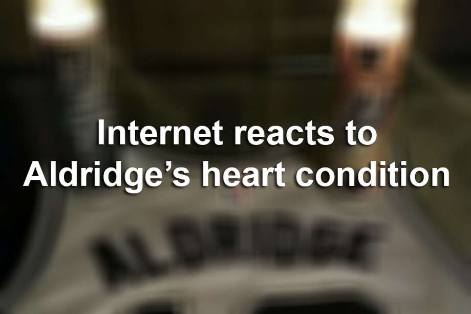 Spurs fans and NBA aficionados reacted Saturday to the news that an existing heart condition left LaMarcus Aldridge sidelined. The Spurs announced Wednesday morning that forward LaMarcus Aldridge has been cleared to resume all basketball-related activities.