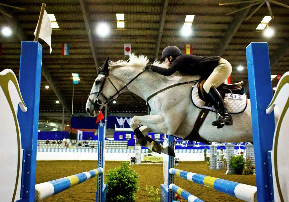 The Great Southwest Equestrian Center, 2501 S. Mason Road, will host the Pin Oak Charity Horse Show March 22-April 2. Family Nights will be 4-9 p.m. March 25 and April 1. General admission is $10 per person. Ages 12 and younger are admitted free. Visit pinoak.org or call 713-621-6290 for information. Photo: Nick De La Torre, Staff / © 2013 Houston Chronicle