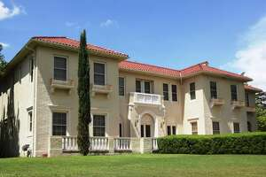 July 2016: Homeowers Robert Kevin Brown and Dennis Karbach are renovating this grand old 1923 Italian Renaissance Revival style house in Monte Vista, designed by Atlee B. Ayres.
