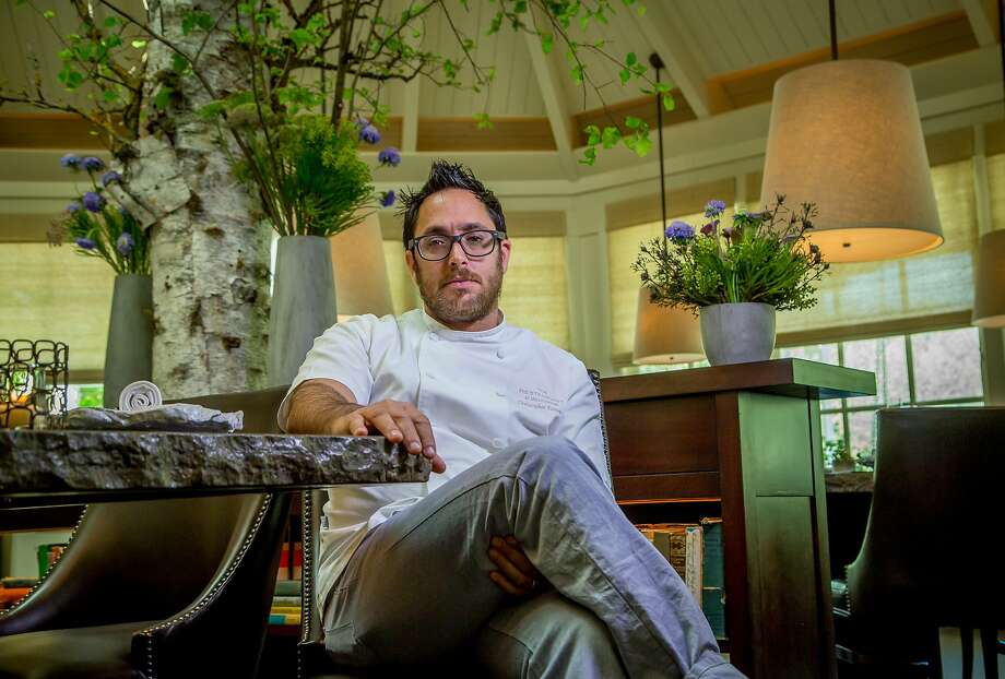 Chef Christopher Kostow at Meadowood restaurant in St. Helena, Calif. is seen on Tuesday,  March 31st,  2015. Photo: John Storey / Special To The Chronicle 2015