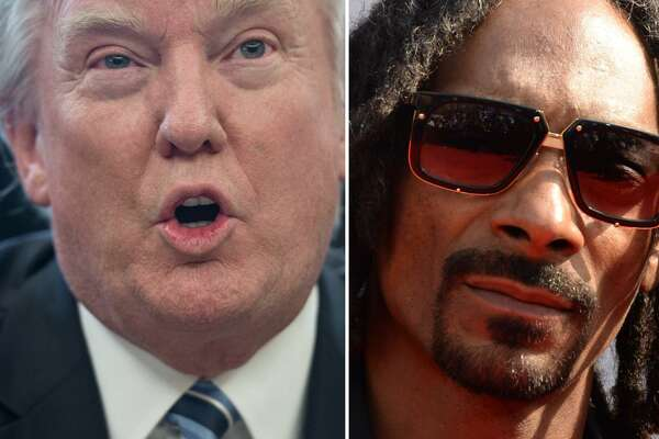 President Trump took to Twitter on Wednesday to criticize Snoop Dogg's new music video in which the West Coast rapper fires a prank gun at a clown resembling Trump.