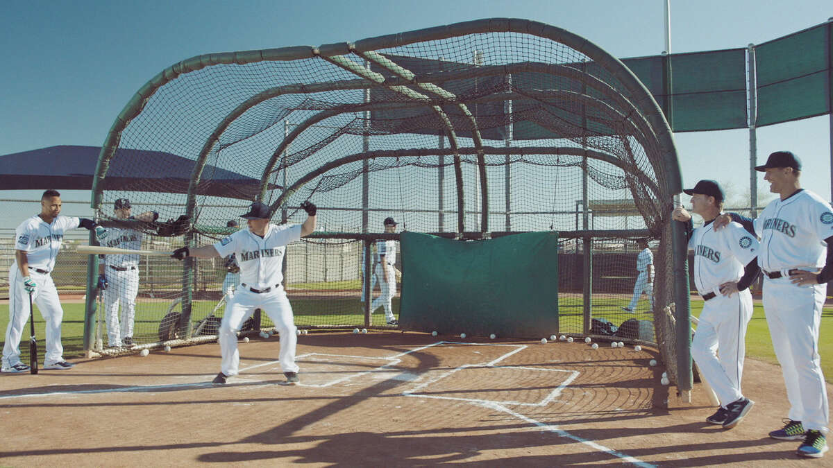 Images from the Seattle Mariners 2017 television commercials.