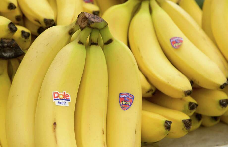 """After a pathogen wiped out much of Latin America's banana plantations, they were replanted with a disease-resistant strain called Cavendish. According to Rob Dunn, author of """"Never Out of Season,"""" anyone born after 1950 is unlikely ever to have eaten a banana that wasn't a Cavendish. Photo: Saul Loeb /AFP / Getty Images / AFP or licensors"""