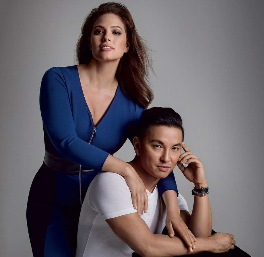Designer Prabal Gurung has created a line for Lane Bryant featuring model Ashley Graham. Photo: Lane Bryant
