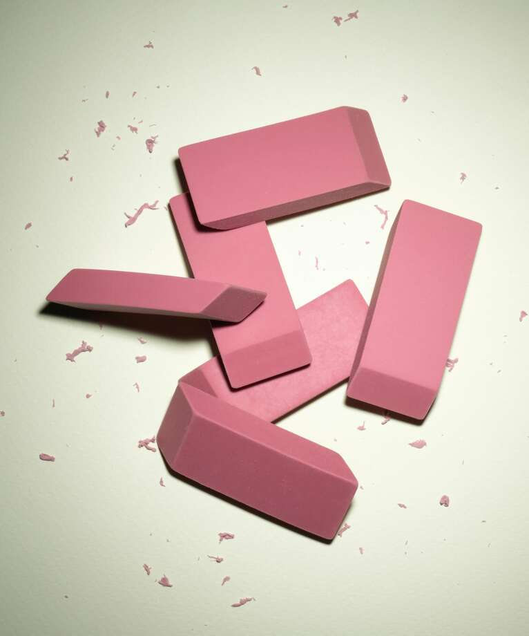 """The """"Eraser Challenge"""" involves kids erasing their skin vigorously until breaks while engaging in a dare like singing the ABCs all the way through. Photo: Jeffrey Coolidge/Getty Images"""