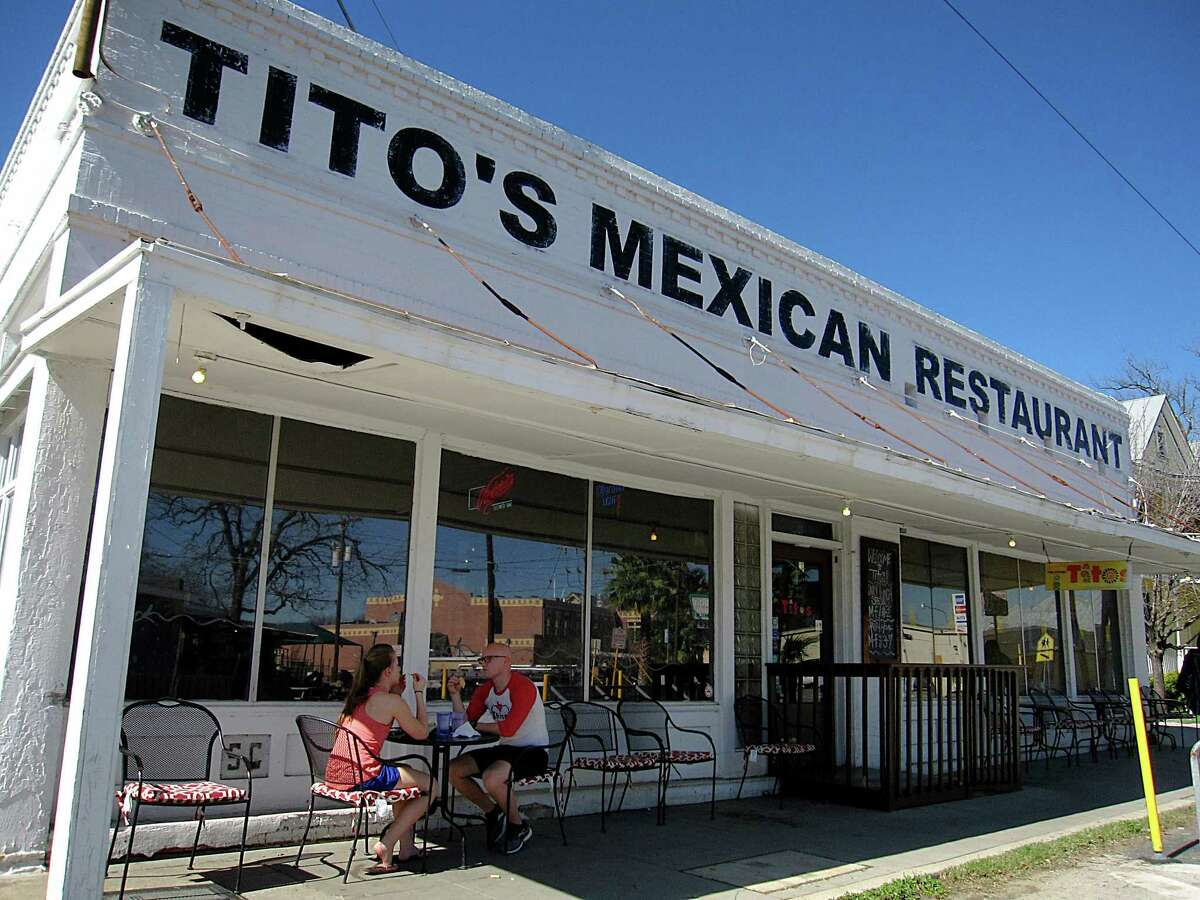 Tito's Mexican Restaurant on South Alamo Street celebrates its 15th year in business this weekend.