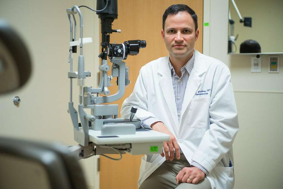 Dr. Jeffrey Goldberg of Stanford co-authored a medical journal paper describing three women who were blinded by treatments for macular degeneration at a private stem cell clinic. Photo: James Tensuan, Special To The Chronicle
