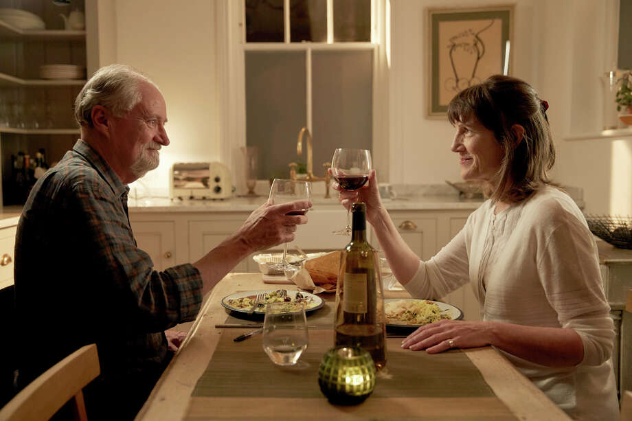 "Jim Broadbent and Harriet Walter in ""The Sense of an Ending,"" directed by Ritesh Batra, whose debut feature ""The Lunchbox"" won a prize at the Cannes Film Festival and became an art-house hit. MUST CREDIT: Robert Viglasky, CBS Films Photo: Robert Viglasky / CBS Films"