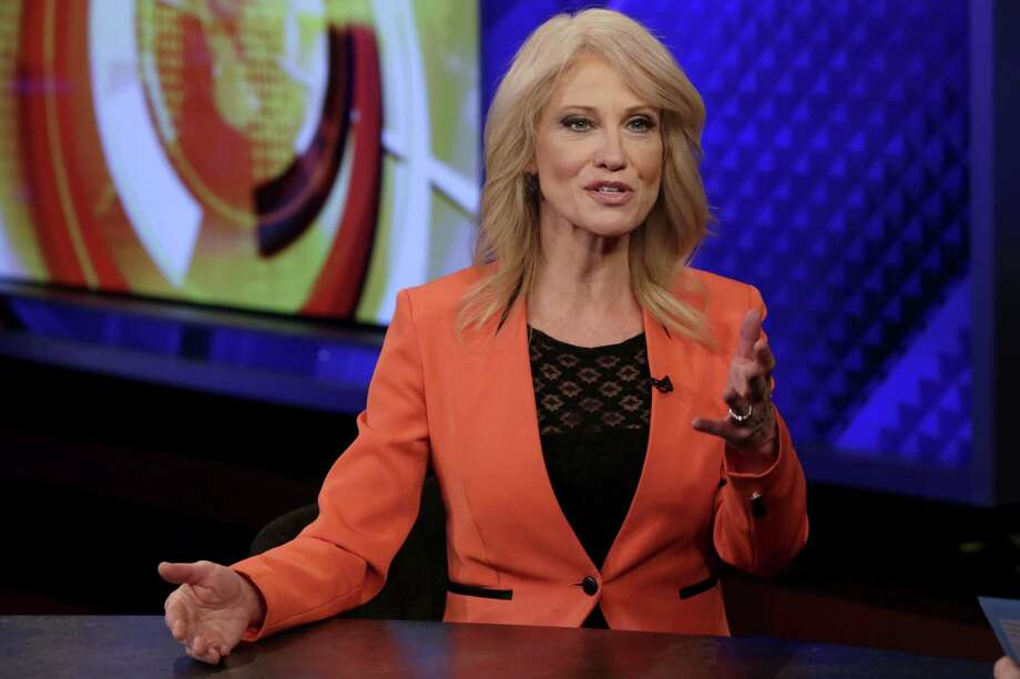 White House counselor Kellyanne Conway suggests that Team Trump may have been surveilled via microwaves and televisions. Photo: Richard Drew /Associated Press / AP