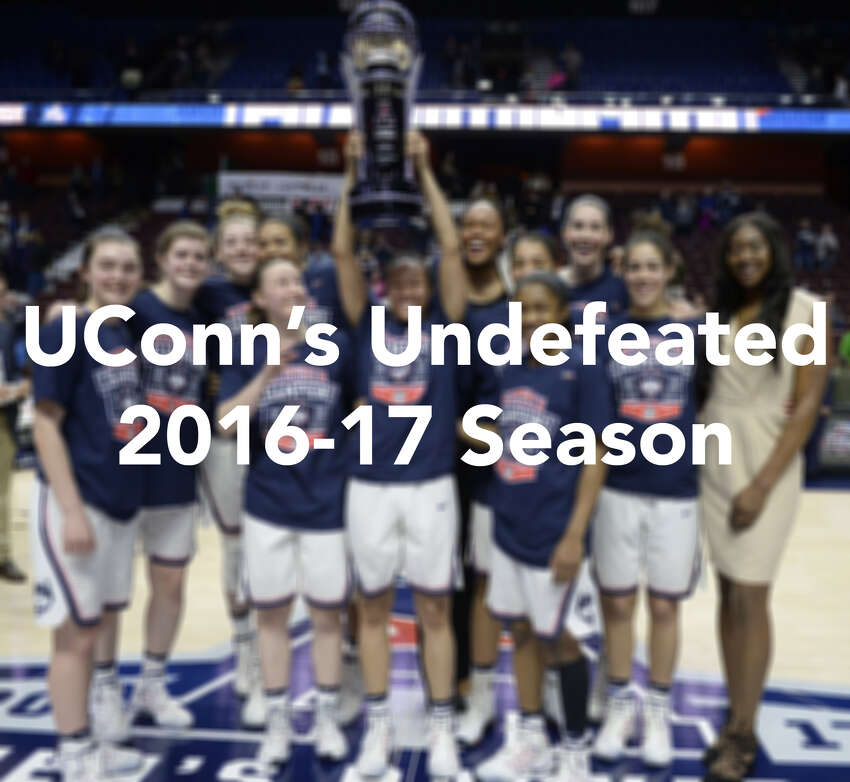 Click through the slideshow to see each game of UConn's undefeated season.