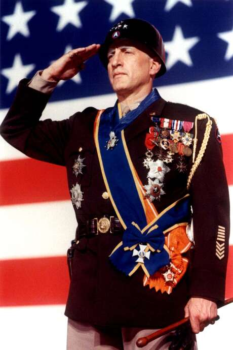 """Actor George C. Scott, shown in a still from the movie """"Patton."""" Scott won the Best Actor Oscar for his role as the American World War II general, but he refused to accept the award. (HO / REUTERS) Photo: HO"""