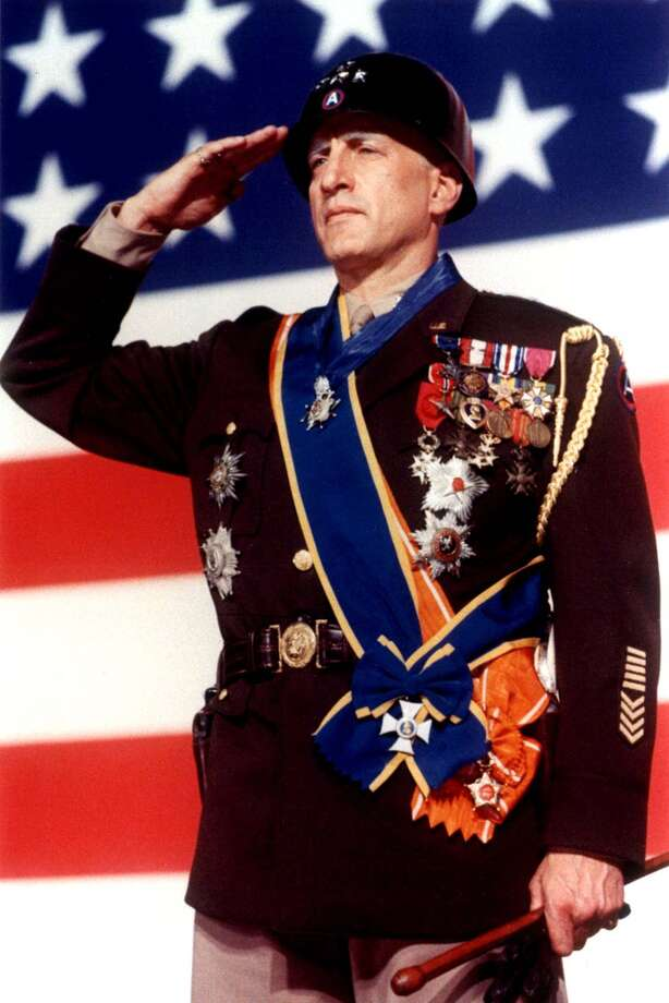 "Actor George C. Scott, shown in a still from the movie ""Patton."" Scott won the Best Actor Oscar for his role as the American World War II general, but he refused to accept the award. (HO / REUTERS) Photo: HO"