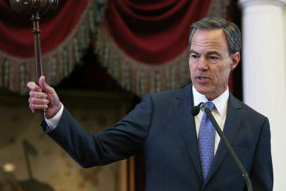 Texas House Speaker Joe Straus, R-San Antonio, has said his chamber will have a budget bill on the floor by the end of the month, whether the Senate is ready to go or not.  (Tom Reel/San Antonio Express-News)