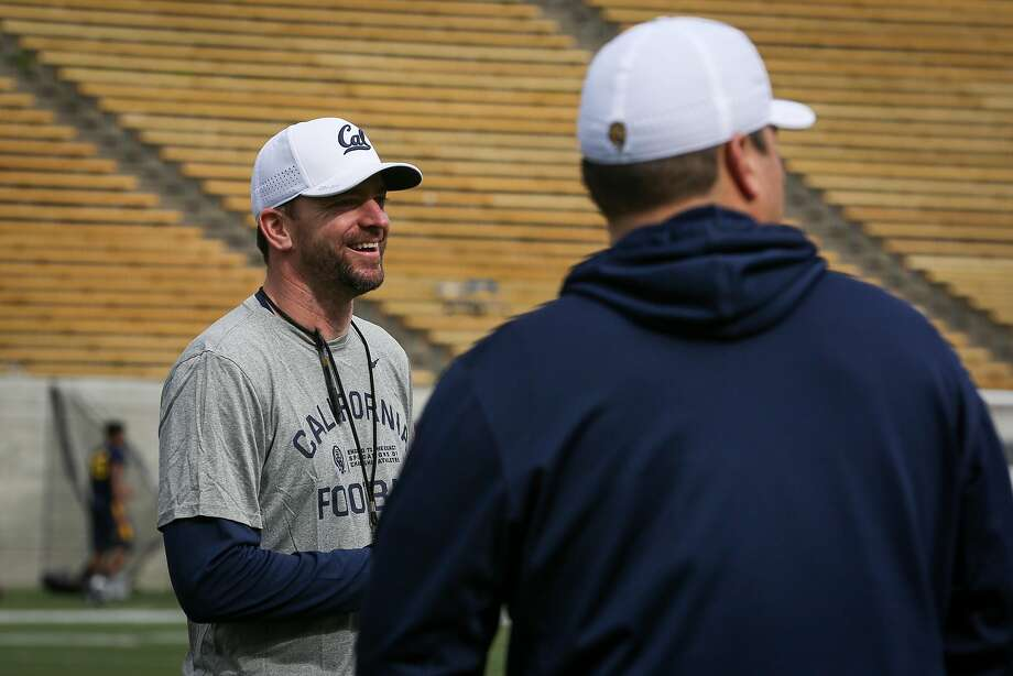 Cal Bears head coach, Justin Wilcox at the first day of Cal football's spring practice on Wednesday, March 14, 2017 in Berkeley, Calif. Photo: Amy Osborne, Special To The Chronicle