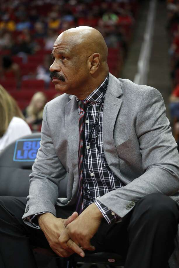 John Lucas watches the Rockets during the first half of an NBA game at Toyota Center, Wednesday, March 15, 2017, in Houston.  ( Karen Warren / Houston Chronicle ) Photo: Karen Warren/Houston Chronicle