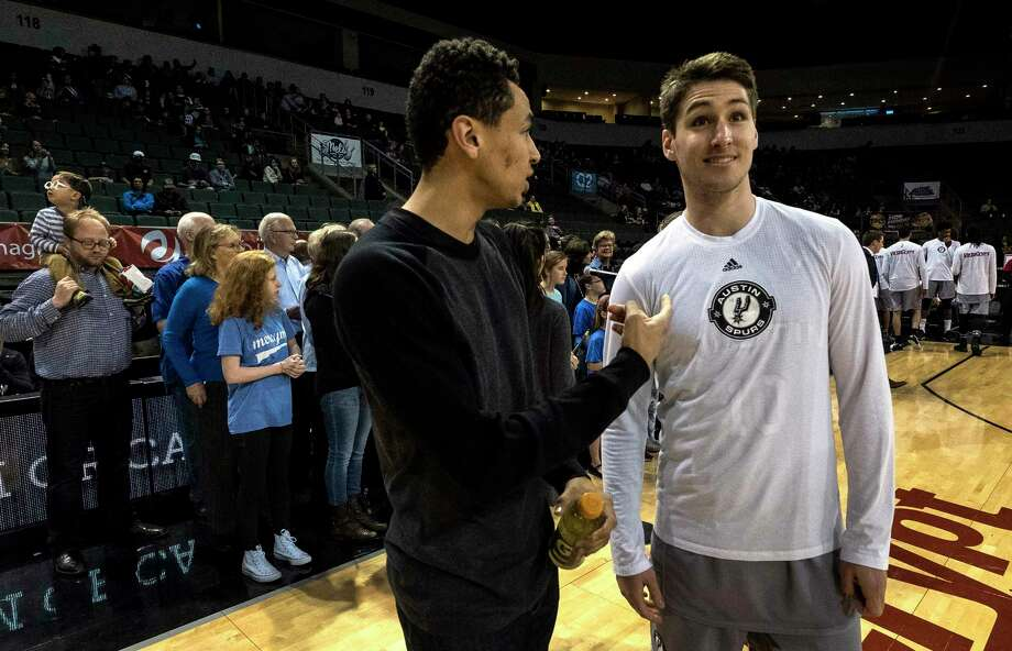 Marcus Paige, left, and Ryan Arcidiacono, who were at the center of Villanova's thrilling victory over North Carolina in the national championship game last April, today are in the NBA Development League.  / For The Washington Post