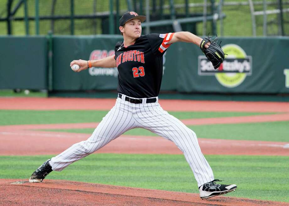 Pitcher Hayden Wesneski, is among a host of Houston area recruits pacing Sam Houston State's success. Photo: Brian Blalock / Sam Houston State University