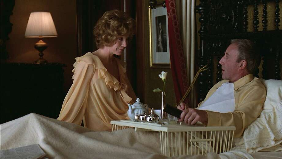 "Peter Sellers (right) and Shirley MacLaine in Hal Ashby's ""Being There"" (1979). Photo: United Artists 1979"