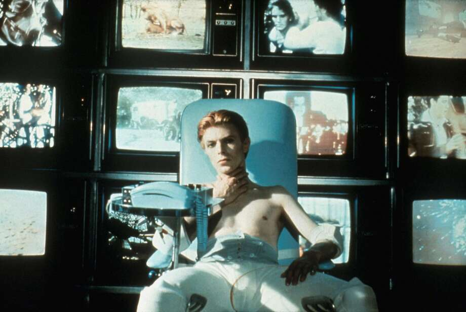 "David Bowie stars in ""The Man Who Fell to Earth."" Photo: Rialto Pictures"