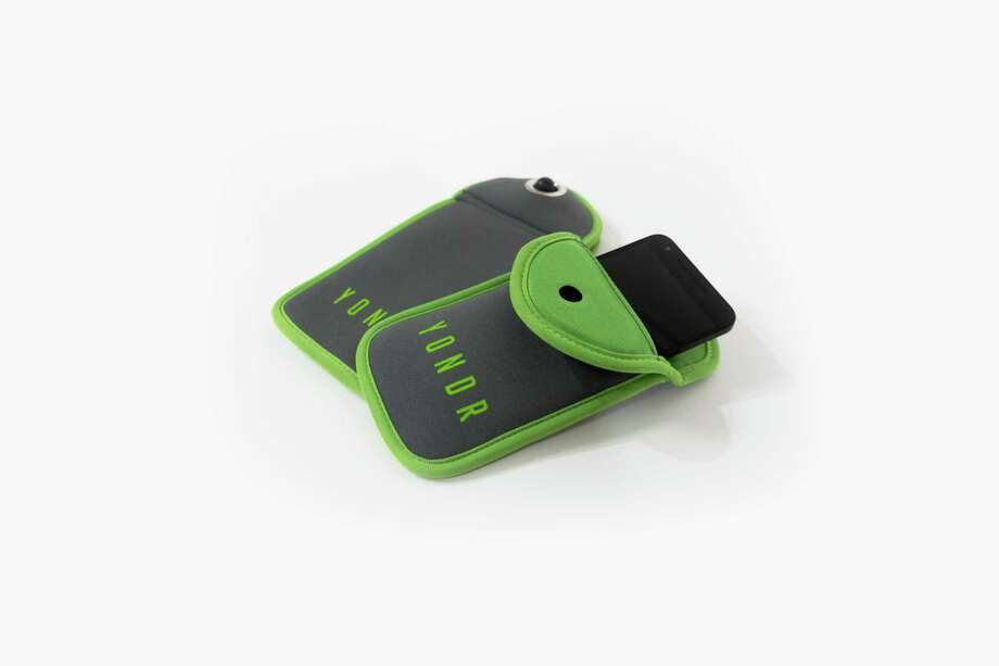 Yondr pouches lock magnetically to prevent cellphone use during concerts and other events. (Photo courtesy Yondr.)