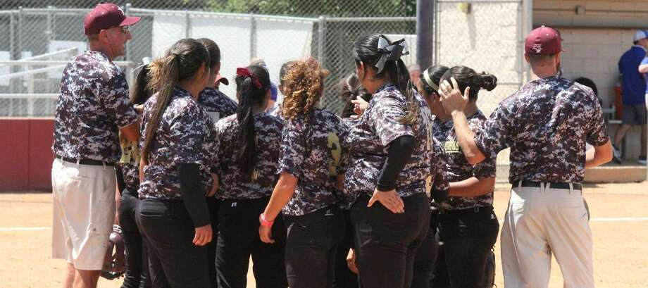 Head coach Scott Libby, left, and the TAMIU softball program will hold two summer camps next week including a high school camp June 11 and elementary/middle school camp June 12. Photo: Courtesy Of TAMIU Athletics, File