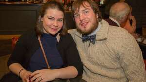 "Were you Seen at opening night of ""An Iliad"" at Capital Repertory Theatre in Albany on Wednesday, March 15, 2017?"