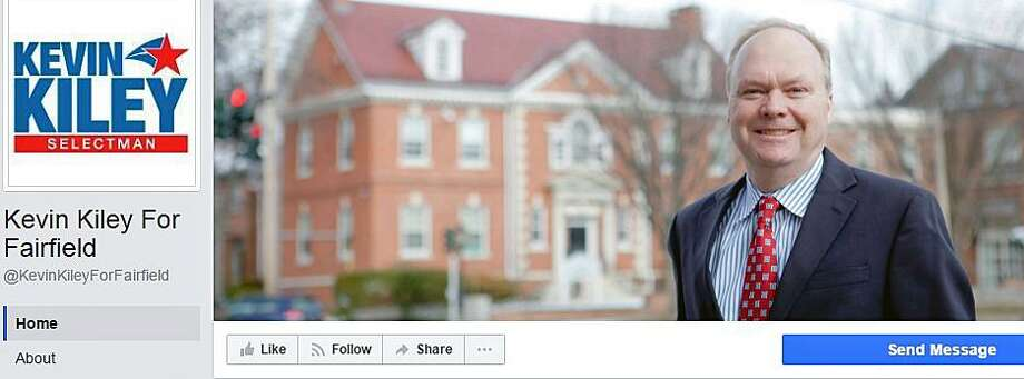 Former Selectman Kevin Kiley has launched a Facebook page to support his bid to return to the Board of Selectmen. Photo: Contributed Photo / Fairfield Citizen