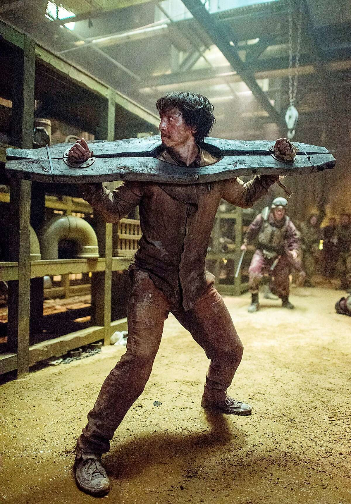 """Daniel Wu is Sonny in Season 2 of the AMC series """"Into the Badlands"""""""